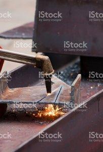 Cast welding